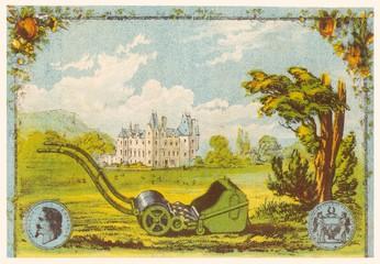 Gardens Lawnmower 1877