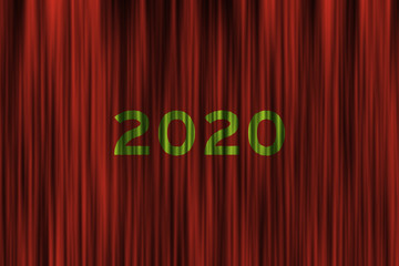 Future concept for upcoming 2020 new year