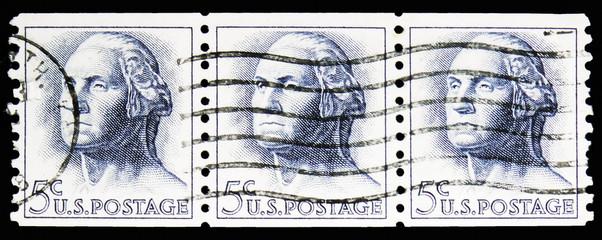 George Washington (1732-1799), 1961-1966 Regular Issue serie, circa 1962