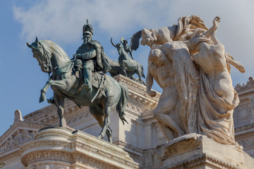 Rome. Altar of the Fatherland.