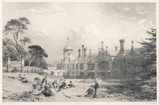 Cobham Hall, Kent 1843