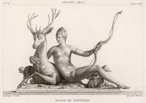 Diane De Poitiers As Huntress