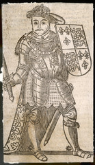 King Henry Viii with a Shield