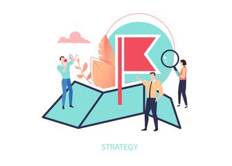 Business strategy, planning, marketing. Goal achievement.