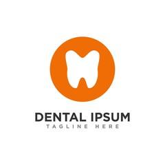 dental logo, dental care vector logo design