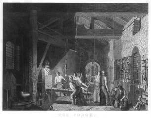 Scene in a Forge