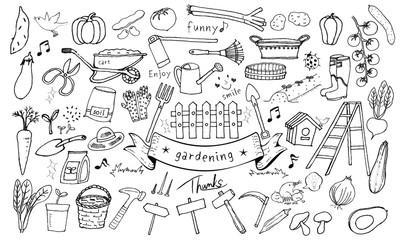 Vegetables Gardening set
