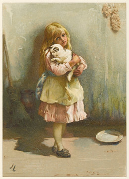 Girl with Cat J Lawson