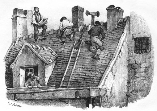 Roofing in France