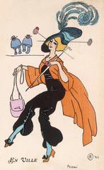 Fashionable Woman 1911