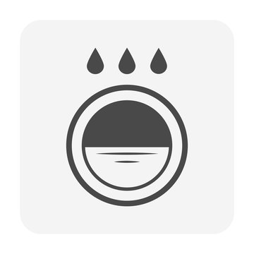 garden drainage icon