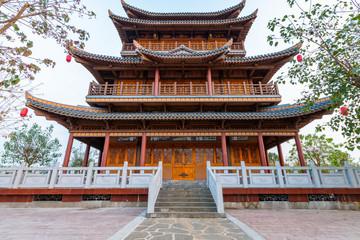 Wenchang Pavilion of Confucius Cultural City, Suixi County