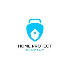 home protect logo design