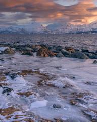 frozen shore - gefrorenes Ufer