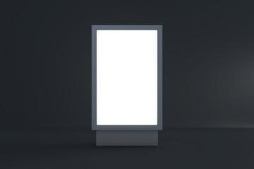 Empty Blank Billboard for Advertisement Mockup