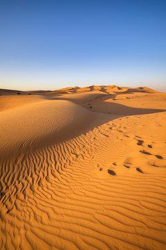 Dubai - Wüstenlandschaft