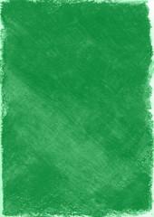 クレヨンで描かれた緑色の背景素材