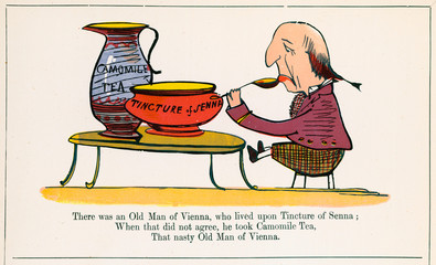 Old Man of Vienna, Edward Lear