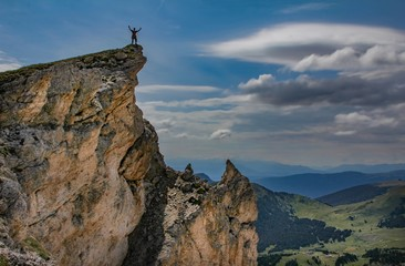 Italy beauty, Dolomity, on the top