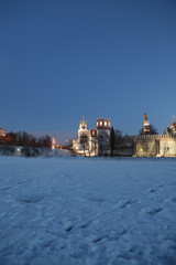 baroque, cathedral, church, cross, dome, dwelling, female, grace, history, dome, house, kind, lake, monastery, monasticism, monk, monument, Moscow, novodevichy, orthodox, orthodoxy, peace, pond, purif