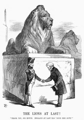 Trafalgar Square Lions