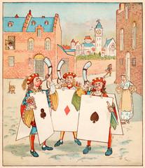 Nursery, Rhyme, the Queen of Hearts, Caldecott, 4 of 8