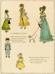Illustration, a Genteel Family