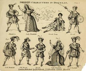 Pollocks Characters in Douglas