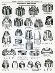 Trade Catalogue for Jelly and Cake Moulds 1911