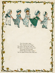 Five Little Girls Dancing