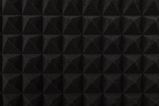 acoustic foam wall pattern.
