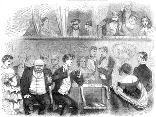 Theatre GoingThe Audience, 1858