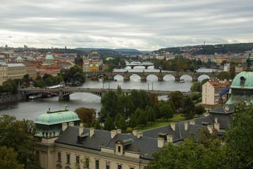 View of Prague From Letna Park - Czech Republic