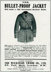 Bulletproof Jacket 1916