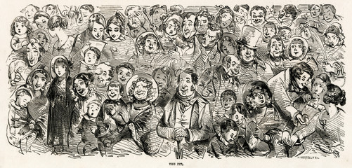 Pantomime Audience 1850