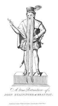 Jean Staininger, Long Bearded Man