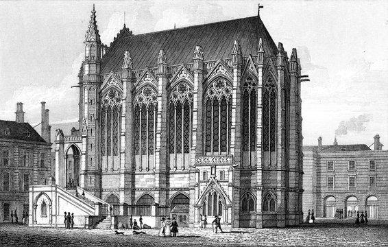 Paris, France La Sainte Chapelle