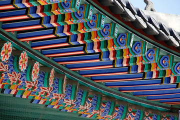 Gyeongbokung Palace in Seoul, South Korea