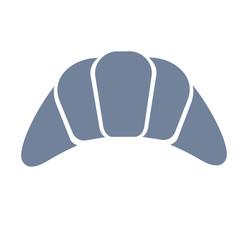 croissant simple art geometric illustration