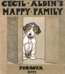 Cover Design, Cecil Aldins Happy Family, Forager