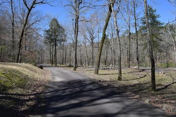 Albert Pike Recreation Area in Ouachita National Forest Arkansas
