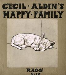 Cover Design, Cecil Aldins Happy Family, Rags