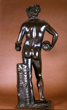Figure of Bacchus, by Francois Girardon