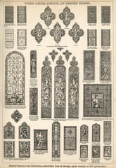 Stained, Painted, Engraved and Embossed Windows, Plate 164