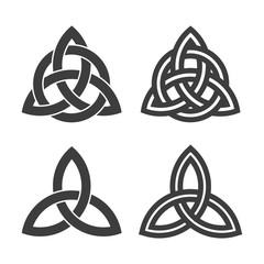 trinity abstract symbol