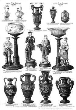 Art Pottery, Plate 75