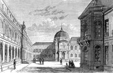 Paris, France Palais Des Archives