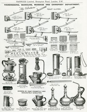 Trade Catalogue of Mens Manicure Equipment 1911