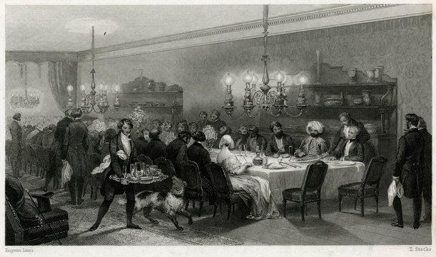Hotel Des Princes, Paris 1840