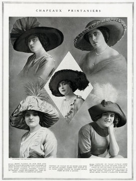 Fashions for Spring 1912